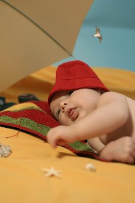Beba i ljetovanje1