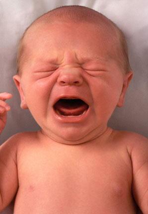 beba plače