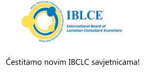 Iskrene čestitke novim IBCLC savjetnicama, članicama HUGPD-a!