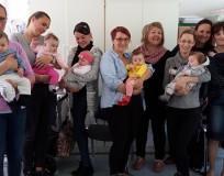 Druženje Njamnjamača uz radionicu o baby handlingu