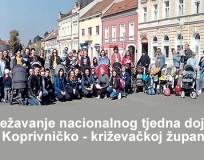 Obilježavanje nacionalnog tjedna dojenja u Koprivničko-križevačkoj županiji