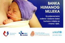 Otvorena prva Banka humanog mlijeka