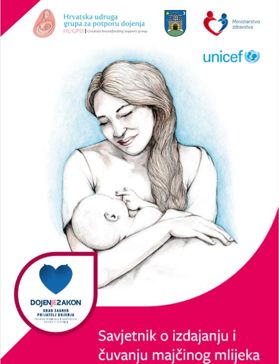 Savjetnik o izdajanju i čuvanju majčinog mlijeka