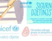 """Brošura UNICEF-a  """"Sigurno djetinstvo"""""""