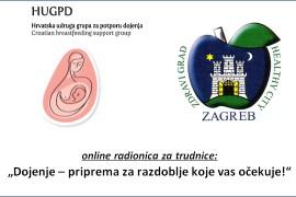Održavanje besplatnih online radionica za trudnice 2020.